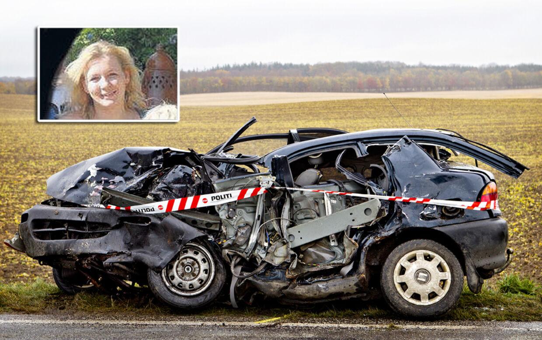Kiki og en af hendes sønner mistede livet i en frygtelig trafikulykke.