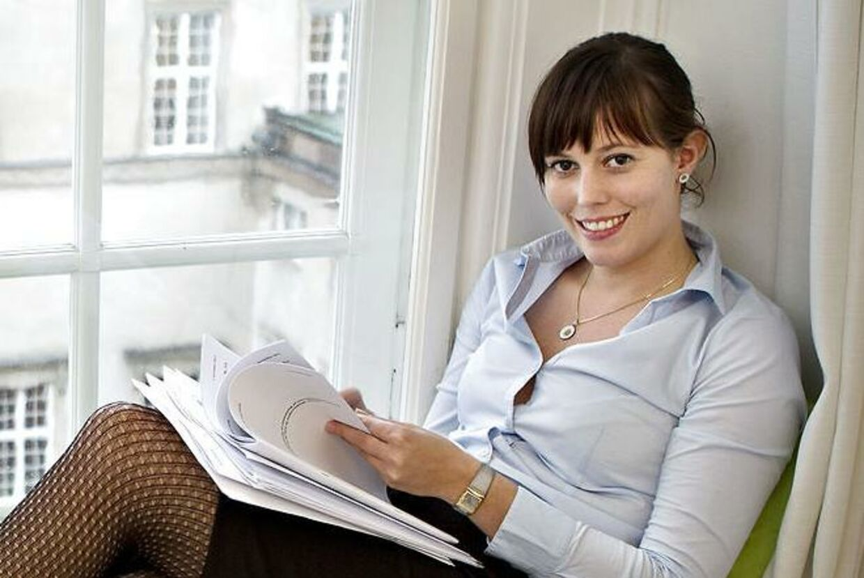 Mai Duedahl Henriksen (K) på sit kontor på Christiansborg. Snart det farvel til Henriksen