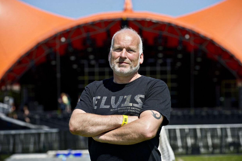 Mens solen endnu skinnede på Roskilde Festivalen (Foto: Torkil Adsersen/Scanpix 2012)
