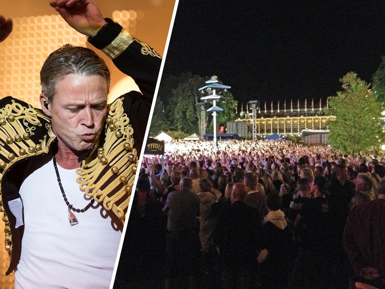 Tivoli druknet i mennesker: Gæster måtte gå forgæves til Helmig | BT Danmark - www.bt.dk