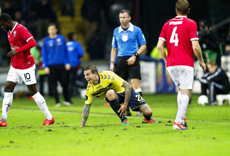 Daniel Agger er med 425.000 om måneden, Superligaens næstbedste betalte spiller.
