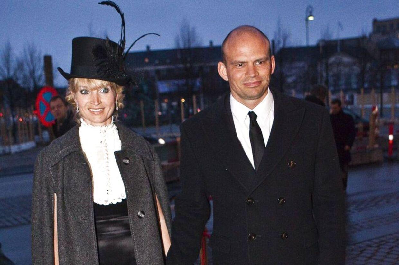 Her ses Annette Heick og Jesper Vollmer ved en anden lejlighed.