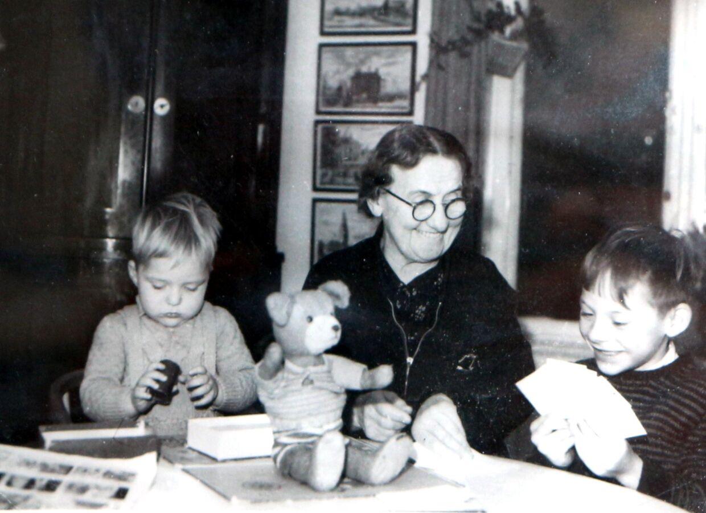 Georg Metz som barn