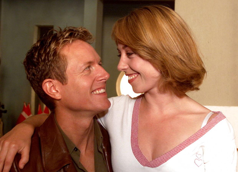 Peter Mygind og Sofie Gråbøl i 'Nikolaj og Julie'.