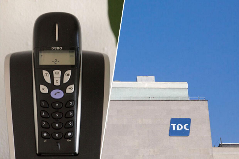 TDC kræver nu 350 kr, hvis du vil modtage regninger på dit fastnettelefoni.