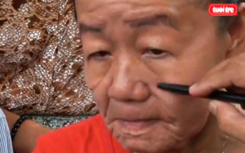 Den vietnamesiske kvinde blev pludselig 50 år ældre at se på.
