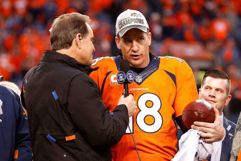 NFL-stjernen Peyton Manning afviser, at han skulle have benyttet sig af doping.