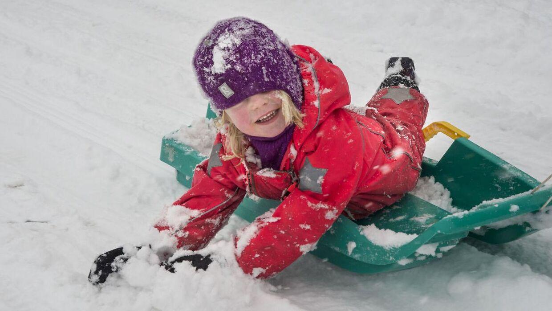 Danskerne kan formentlig se frem til en lille omgang sne på fredag.