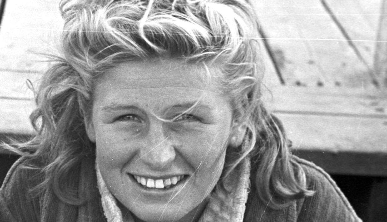 Svømmeren Ragnhild Hveger.