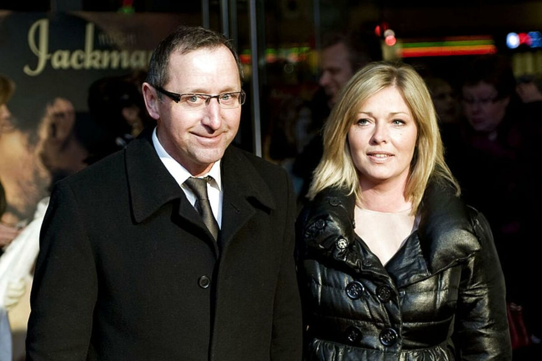 Finn Nørbygaard og hans kone Hanne går fra hinanden efter fire års ægteskab. (Arkivfoto)