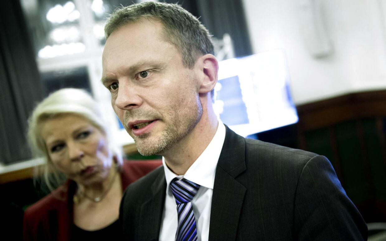 Dansk Folkepartis spidskandidat Carl Christian Ebbesen får en borgmesterpost i København. BV.: