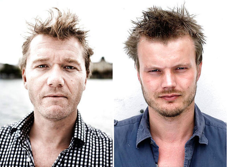 Frank Piasecki Poulsen (tv) og Rene Frendensborg (th).