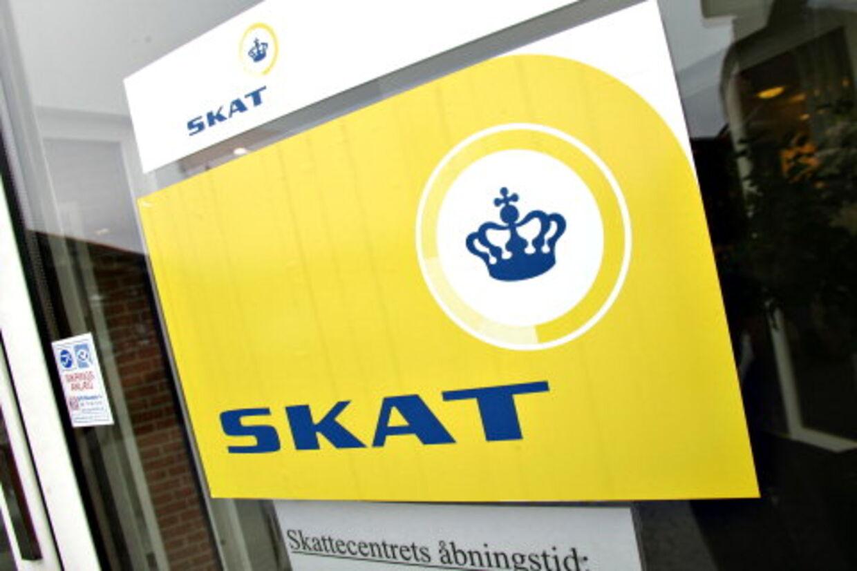 Først skulle Skat betale for en forundersøgelse, hvor 11Design kiggede på Skat tidligere gule logoer og fandt ud af, at det nye logo også skulle være gult. Det kostede 145.000 kr. Foto: Claus Fisker