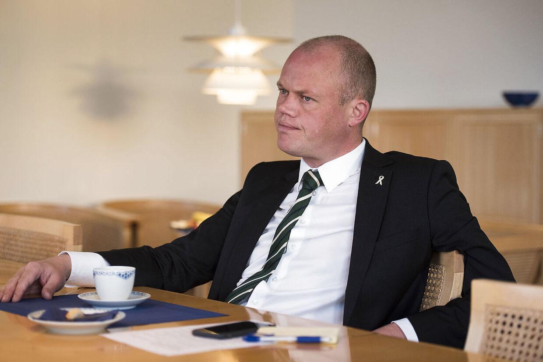 Forsvarsminister Peter Christensen (V).