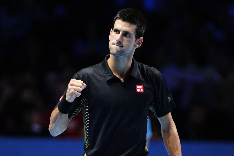 Djokovic slog federer