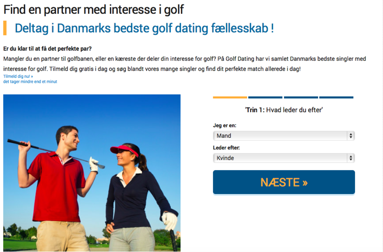 Selv introduktion på dating sites