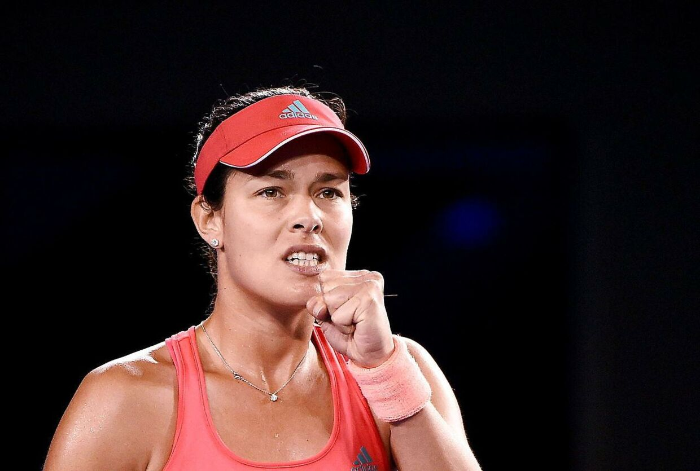 Der blev også spillet tennis. Ana Ivanovic vandt kampen 6-3, 6-3.