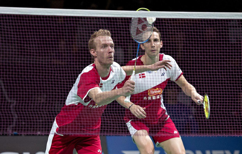 Badminton-spillerne Mathias Boe og Carsten Mogensen vandt søndag finalen i Korea Open.