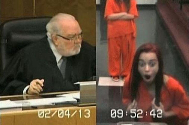 Den amerikanske teenager Penelope Soto troede, at hun kunne charme sig igennem retsmødet. Men dommeren havde andre planer.