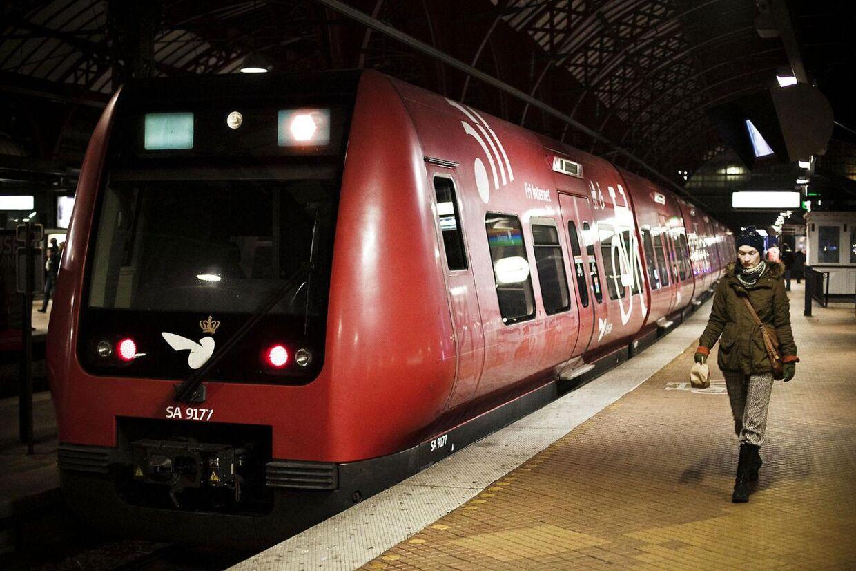 Onsdag morgen er der problemer med S-togstrafikken.