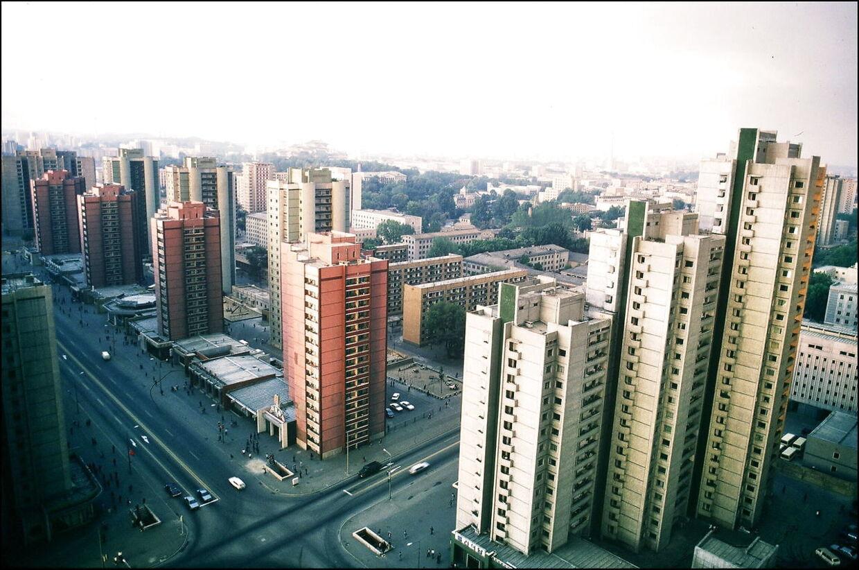 Nordkoreas hovedstad, Pyongyang.
