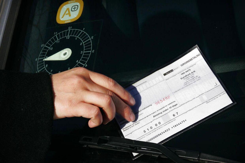 En bilist i Odense oplevede at få en ulovlig bøde af parkeringsselskabet Europark. Arkivfoto.