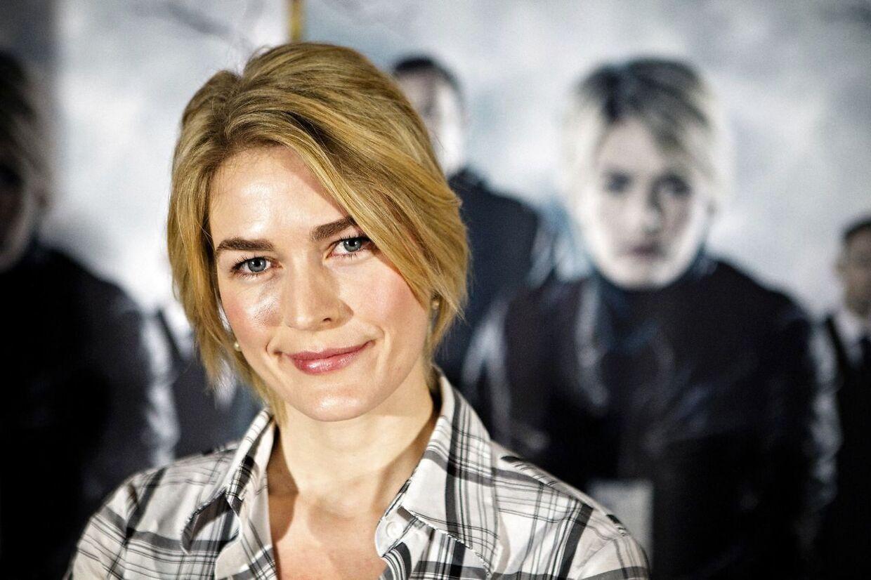 Sådan så hun ud, da hun spillede med i 'Den som dræber'.