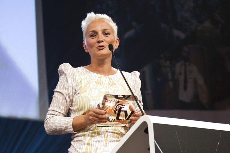 Ane Cortzen styrer i aften seerne sikkert gennem Mobi Awards 2012 i Nationalmuseet. BT sender prisuddelingen live her på bt.dk.