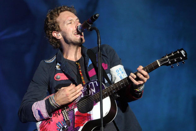 Coldplays Chris Martin leverede en koncert med store armbevægelser i Herning i aftes.