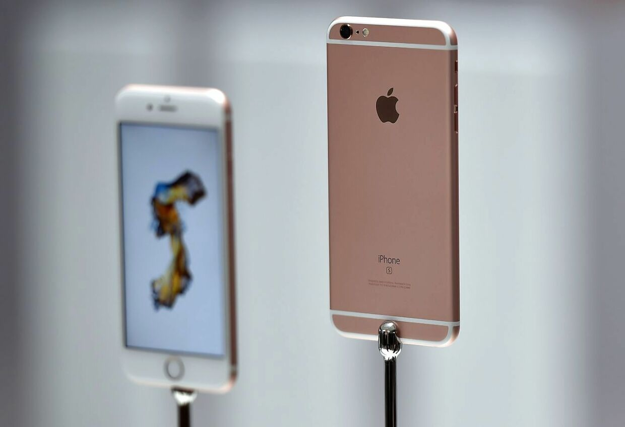 Apple sender ny iPhone og iPad på markedet til marts (Foto: AFP Photo/Josh Edelson).