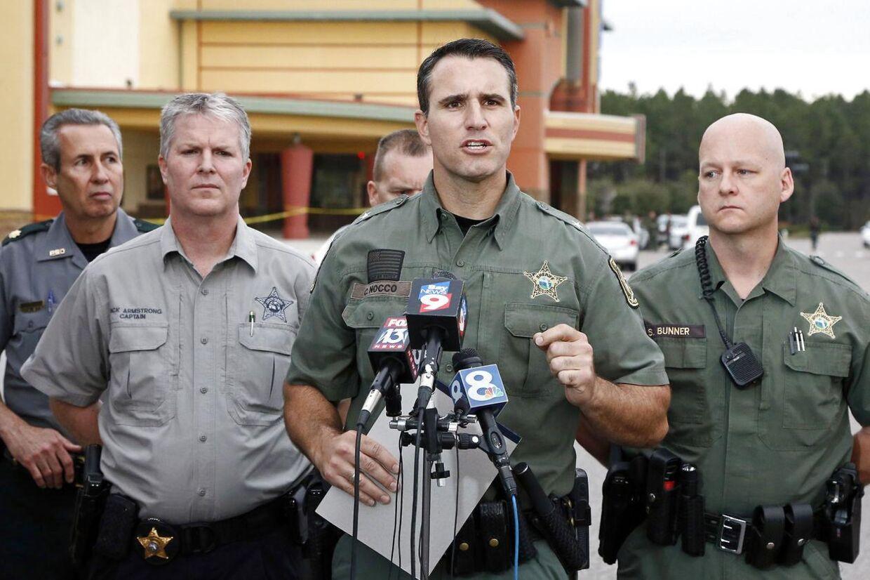 Sheriffen Chris Nocco fra Pasco County i Florida forklarer, hvordan et skænderi udviklede sig til drab.