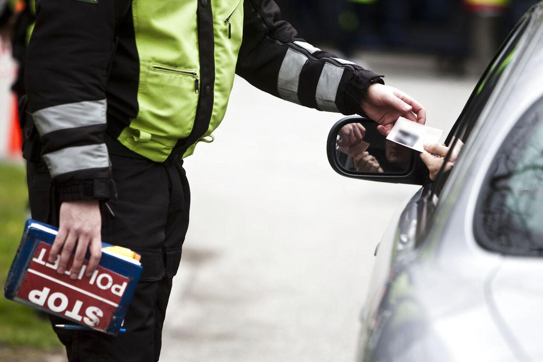 En joint kan koste kørekortet i første hug, selv hvis man først kører bil flere dage efter.