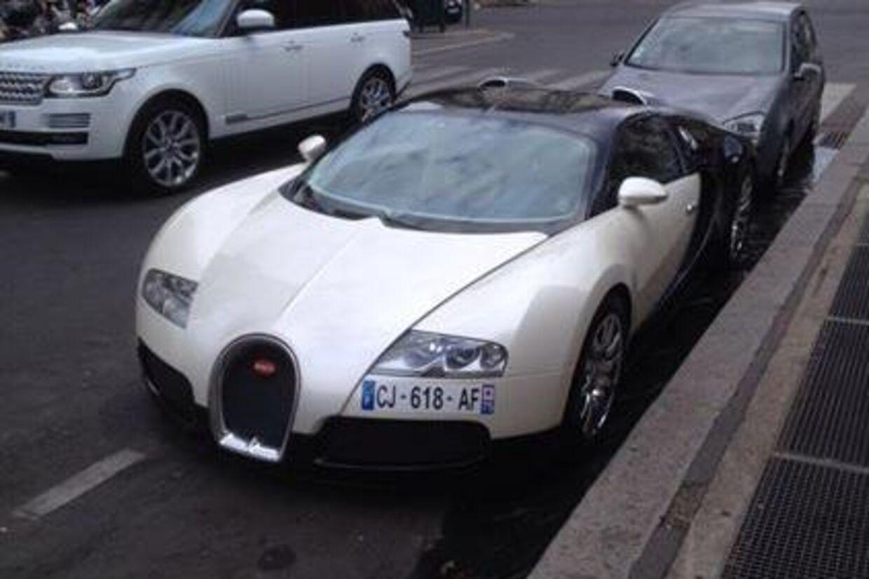 Hvis vi nedsætter registreringsafgiften på biler, så vil vi møde flere Bugattier, som denne, på de danske gader og stræder. Og det vil være 'win win for alle', mener Brian Mikkelsen
