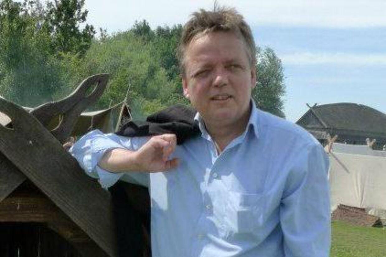 Debattøren Morten Uhrskovs hjem er blevet udsat for hærværk. Billedet er fra en tidligere lejlighed.