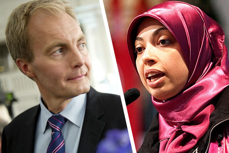 - Jeg frygter, at Fyns politi har ansat en islamistisk muslim, som vil kunne skabe større problemer for det danske samfund, end hun løser, siger Peter Skaarup han til BT.