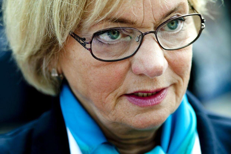 Pia Kjærsgaard er ikke så meget i tvivl overfor debattens om Fiz Fiz' familien. Hvis de lider afsavn efter hans udvisning, så kan de bare rejse med ham. Arkivfoto.