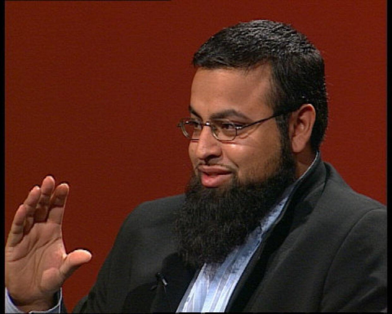 BEDRAG. Shahid Mehdi kan slet ikke kalde sig mufti.<br>Foto: DR TV