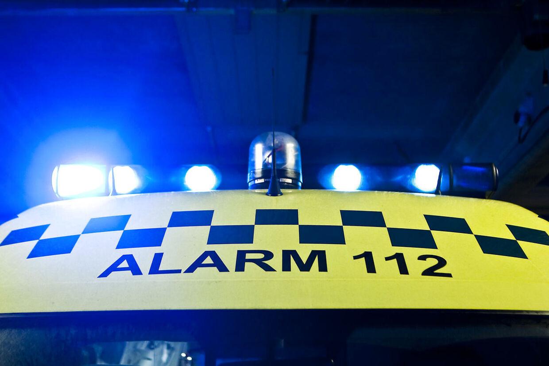 En 18-årig mand fra Videbæk er i livsfare efter at han i bil lavede en U-vending ud foran en anden bilist.