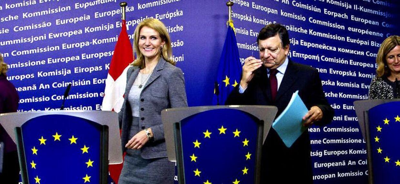 På trods af, at EU-kommissionsformand José Manuel Barroso udtaler, at Danmark hverken bliver underlagt sanktioner, straf eller andre nye forpligtigelser, er det ikke nok til at kvæle en utilfredshed i SF's bagland (arkivfoto).