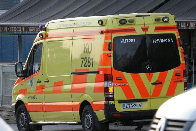 ARKIV: Finsk ambulance