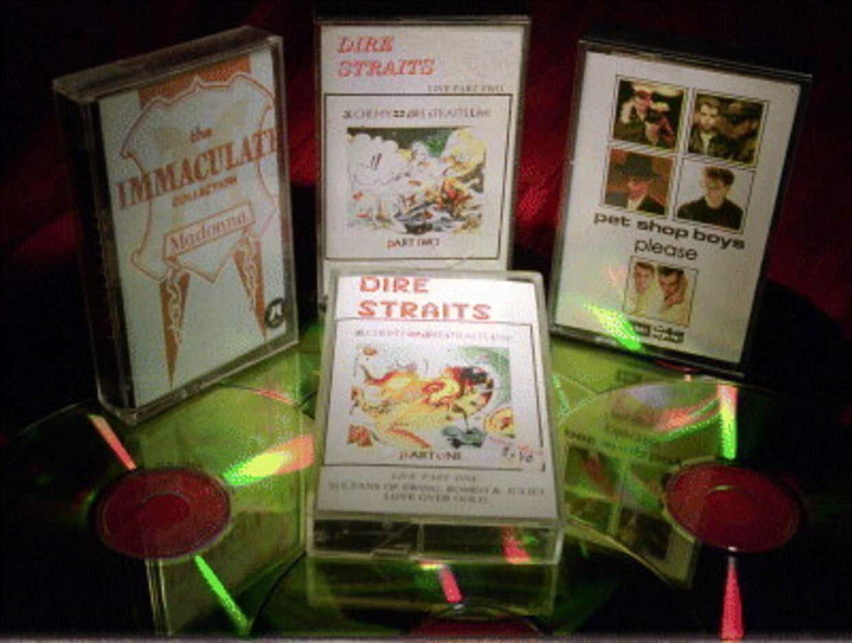 VHS-båndet er på vej ud. Arkivfoto: Bjørn Kähler