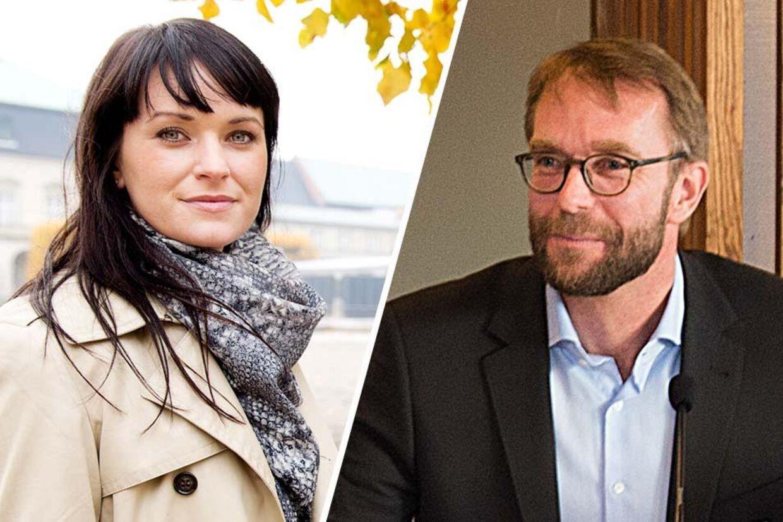 Venstre-kvinden Sophie Løhde og fodboldbossen Okle Palmå bekræfter nu, at de er kærester.
