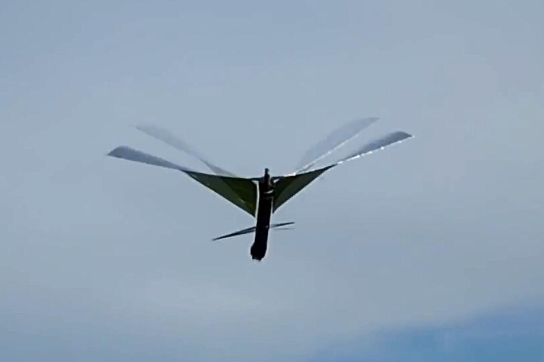 Fuglen er udviklet på Maryland Robotics Center. Den er fremstillet af kulfiber, 3D-printet letvægts-varmeafvisende plastik – og så lidt folie til hale og vinger. Og så har den fået navnet 'Robo Raven'.