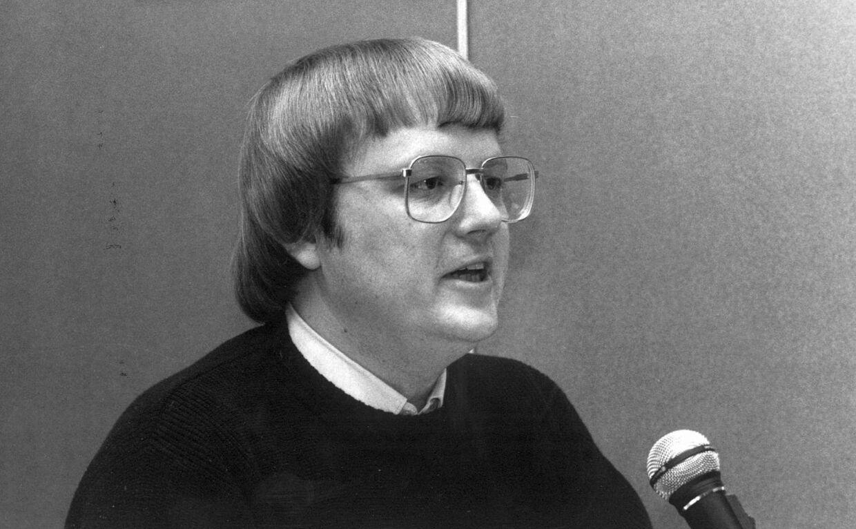 Radio-vært Kaj Vilhelmsen tilbage i 1993.