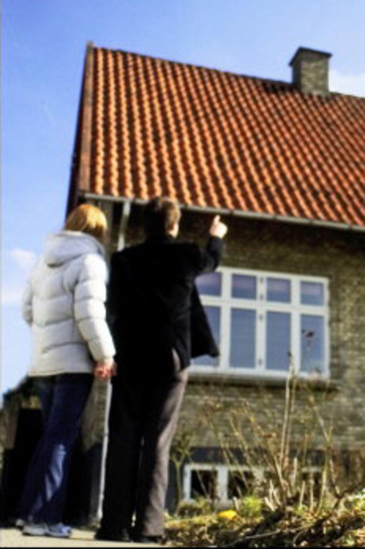 En ny hjemmeside sætter kroner og øre på de dalige prisfald på enkelte boliger. Arkivfoto: Simon Knudsen