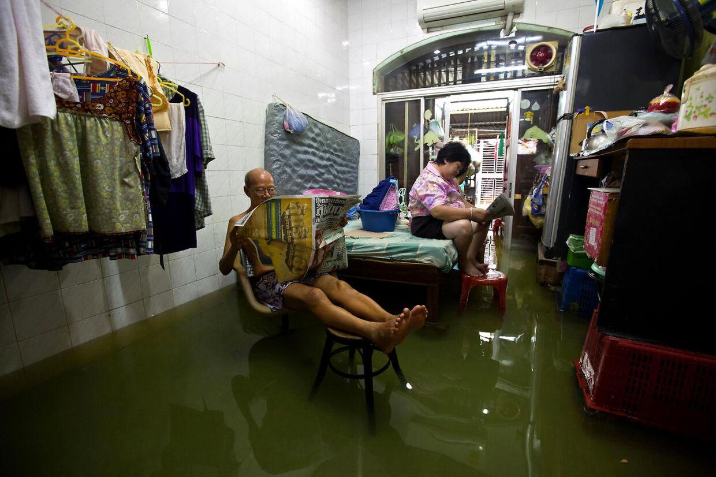 Bangkok slap nådigt fra oversvømmelserne.