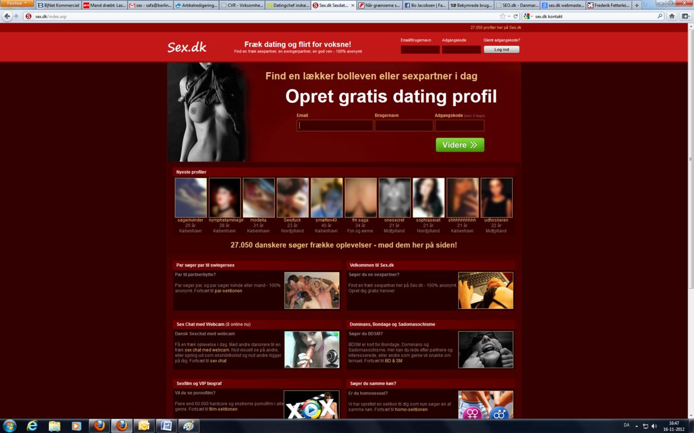 Burgere på sex.dk har kontaktet sitet, da de er nervøse for misbrug af deres profil efter massivt hacker-angreb.