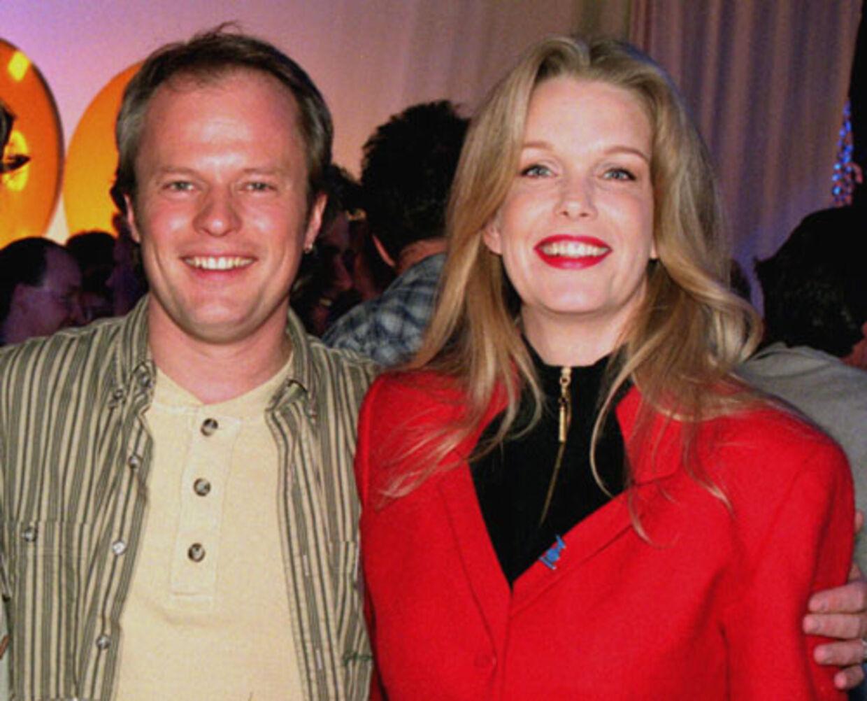 Dennis Johannesson og Carina Jensen fandt hinanden på skærmen.