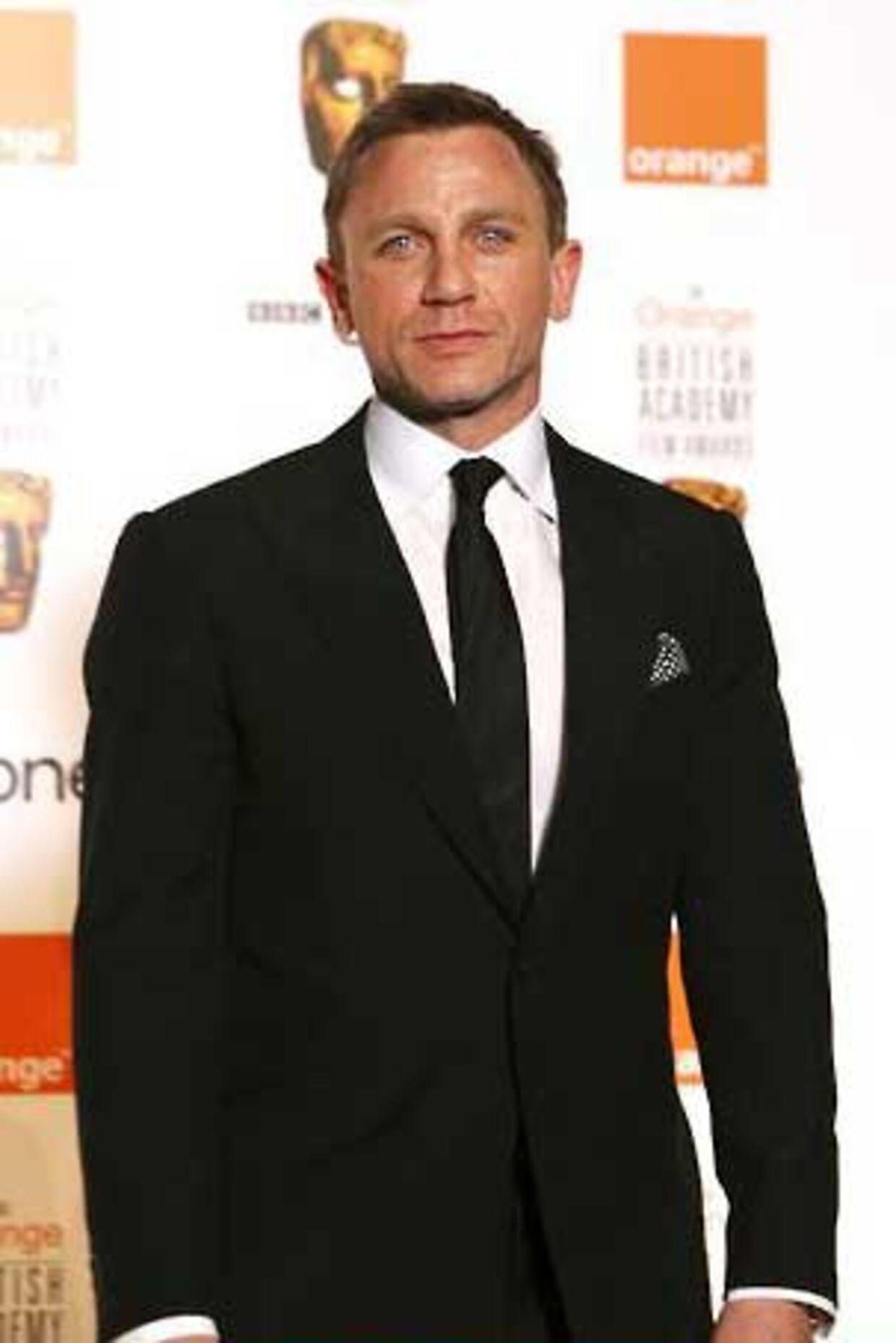 En svensker har fået lov til at kalde sig James Bond. Her ses den ægte vare i skikkelse af Daniel Craig.