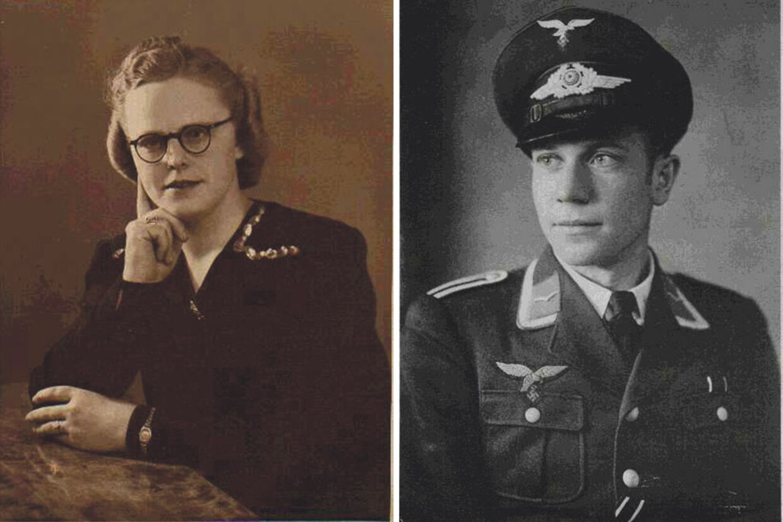 Ketty Marie Jensen mødte tilfældigt David Georg Niehaus og forelskede sig i ham. Han var flymekaniker og befallingsmand i Luftwaffe, udstationeret i Nørresundby.